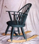 small green rocker
